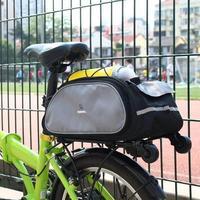 New 2014 Roswheel cycling bicycle bag bike rear seat bag pannier travel bag Luggage Carrier Bag Free Shipping