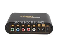 Free Shipping Free shipping LKV7600 YPbPr/ Composite video to VGA Converter, YPbPr to VGA converter, Quality assurance