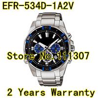 EFR-534D-1A2V EFR534D-1A2 EFR-534D 100m Quartz Mens Casual Watch