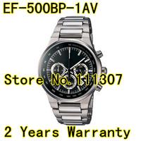 EF-500BP-1AV NEW  Men's Chronograph black dial watch EF-500BP EF500 BP Gents Watch