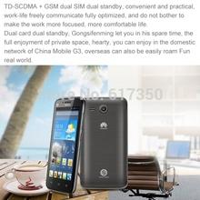 Original HuaWei Y511 phone MTK6572 dual core 4 5inch Dual SIM card RAM 512MB ROM 4GB