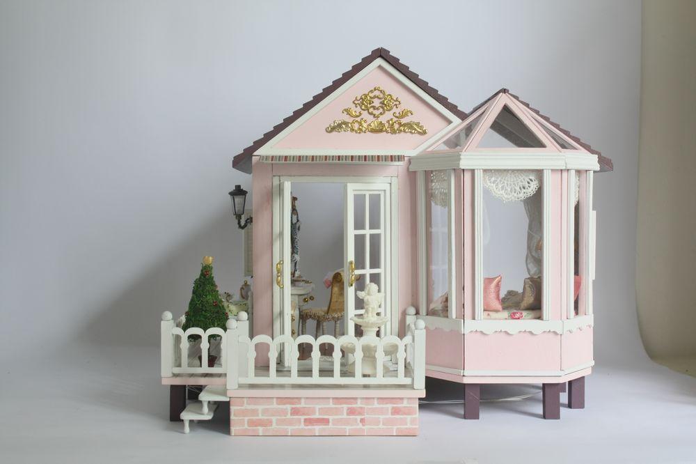 Christmas Gift Fashion Design Hot Sale Diy Dollhouse Mini