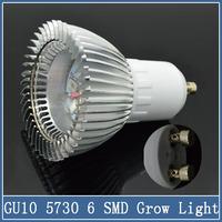 1x GU10 LED Plant Bulb Spotlight Grow Lamps AC 220V 110V Yard Flower Hydroponics 5/7/9/15W SMD 5730 Greenhouse Nursery Lighting