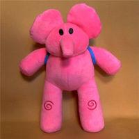 TALK & SOUND Toy Elephants Elly 30cm Pocoyo ELLY PATO Plush Figure Toy Doll
