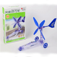 Exquisite Build Your Own Wind Powered Car Older Boys Educational Kit Toys Suzie