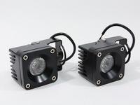 2014 New Hot Sell 2pcs 10W Auto LED Work Light Spot Lamp 830LM Car Boat Off-road SUV Driving Fog