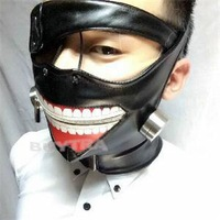 2014 New Novetly Festive Supplies Party Masks Japan Anime Tokyo Ghoul Kaneki Ken Cosplay Mask for Halloween