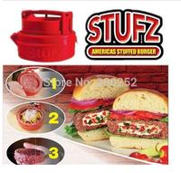 Free Shipping ! 2014 latest Stufz Stuffed hamburger press,kitchen meat and poultry tools,burger press meat,hamburger machine