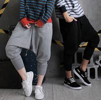 Mens Womens Casual Harem Baggy Hip Hop Dance Sport Sweat Pants Trousers Slacks