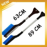 2014 Real Brush Car Snow Scraper The New Telescopic Snow Shovel / Clean Car Brush Scraper Tools, free Shipping