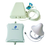 900/1800MHz Cell Phone Signal Booster Repeater 70db gain GSM 3G 4G Amplifier with Antenna and Cable
