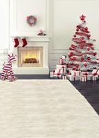 New Arrival  Zebra stove Christmas gifts mini photography backdrops photo  200CM*150CM  backgrounds  F-7902