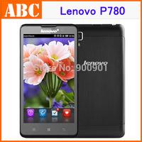 "Original Lenovo P780 phone 5.0"" HD Quad Core Android 4.2 phones MTK6589 1.2GHz 1280x720p 1GB RAM 4GB Rom 8.0MP 4000mAh battery"