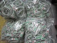 Stylish Palestine rubber wrist bands --- DH6744