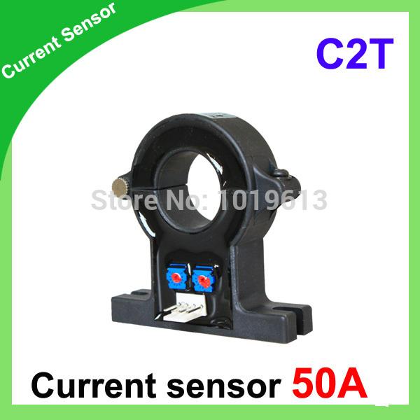 DC current sensors C2T series hall current sensor 50A(China (Mainland))
