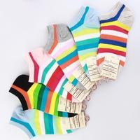 2014 Bestseller Women Summer Boat Socks Cute Design 5 pairs per lot