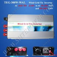 wind power inverter 300w grid tie ac 24v 36v 48v to ac 110v/120v/220v/230v power inverter