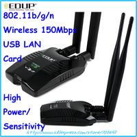 EP-MS8515GS 6dBi 2 antenna Ralink3070 long distance high power wireless wifi USB adapter LAN network card fast speed audio games