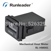 AC/DC QUARTZ Mechanical Hour Meter for Generators Mower Motors