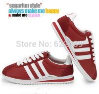 Casual women sneakers,NEW 2014 women single shoes,fashion women flat heel sneaker shoes,100% high quality Plus size sneakers