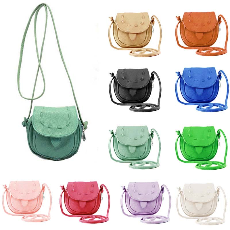 Дешевая женская сумочка для всяких мелочей, 2014 New Fashion Lovely Cute Mini PU Leather Bag Adjustable Women's Shoulder Bag Draw String Handbag Small Phone Bag 10 Colors