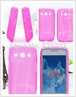 Free DHL shipping rainbow pattern tpu skin case cover for Samsung Galaxy Star Advance G350E