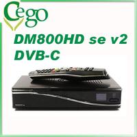 1pc DM800se V2 Satellite TV Receiver dm800 se V2 with SIM2.20 1GB Flash 521MB RAM HbbTV and Web browser
