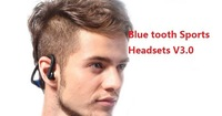 10pcs/lot,100% genuine V3.0 Blue tooth 4 Colors Sports Wireless Bluetooth StereoHeadset Headphone Earphone with retail packing