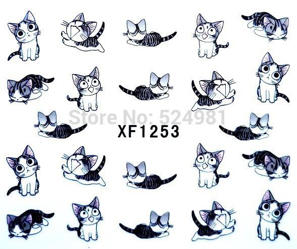 Наклейки для ногтей 1 1253