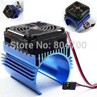 Hobbywing C4 5V Cooling Fan For 1/8 +CarEzrun 44 x 65mm Motor Heat Sink System
