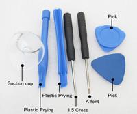 Repair Opening Pry Tools Kit 7 in 1 Pentalobe Screwdriver for Samsung S4 S3