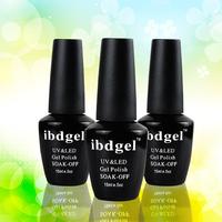 Choose 12 PCS  Ibdgel uv gel polish gorgeous mix colors (10color gel+1top coat+1base coat) Fast shipping by DHL