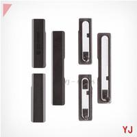 For Sony Xperia Z1 L39h C6903 Honami MicroSD Card Cap + SIM Card Cap + Charging Port Cover (3pcs/set)- Black White Purple