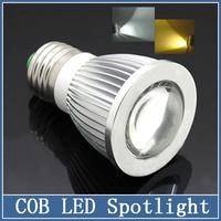 1x  E27 220V LED Lamps COB Spotlight 5W/7W/9W Crystal Bulbs Chandelier Droplight Super Bright Energy Saving