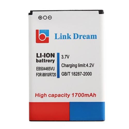 Link Dream High Quality 1700mAh Replacement Battery for Samsung i8910 (EB504465VU)(China (Mainland))