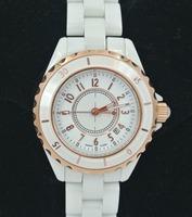 Women fashiton waterproof dress wristwatch men brand luxury white Ceramic watch Valentine's day&Christmas gifts