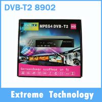 Digital Terrestrial Receiver  DVB-T2 8902 HD TV Receiver DVB T2 Tuner MPEG2/4 H.264 set top box For Europe,Singapore,Malaysia