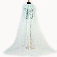 Hot Sale Unique Children Frozen Tutu Dress Cape Big Snowflake Tulle Cape For Baby Girl Dresses