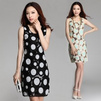Hot Sale 2014 Fashion Formal Dress Pretty Summer Dress For Women Clothing Female Office Uniform Prom Dresses D-9007