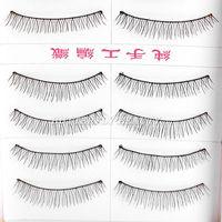 Details about 10Pairs Makeup Handmade Natural Fashion Long False Eyelashes Eye Lashes 216A