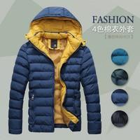 2014 Hotsale Men Winter Coat Jacket Down Coat Parka Outdoor Wear High Quality Plus Size M-XXXL YLT105