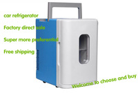 Free shipping 12v cooler box 12v mini fridge car refrigerator portable fridge 10L