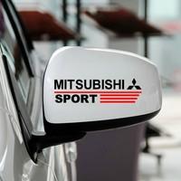 Free shipping Automobile label  car stickers for Mitsubishi Reversing mirror stickers decorative car modified