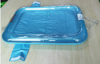 Inflatable water tray for kids ,sensory sand outdoor  picnic tray,for childrens swimming and playing ,sand  beach toy