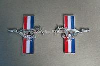 Metal Zinc Alloy  horse Emblem For Left&Right Side
