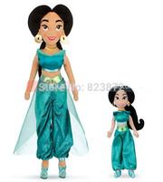 Free shipping Original Princess Doll Jasmine Plush Doll Bonecas Princesas Brinquedos Girls Plush Toys for Children
