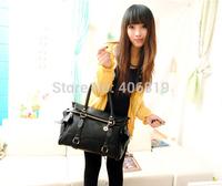 2014 Korean version of the new promotional fashion handbags shoulder bag Messenger bag handbag PU bag 182 free to send