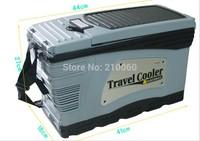 EMS Free shipping 1pcs 7L Large Capacity Portable Car Refrigerator Mini fridge Car fridge Cooler Box Portable fridge electronics
