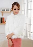 Free shipping 2014 winter new coat  female imitation faux  fur coat parka women's jacket
