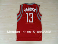 Fast Free Shipping Harden #13 Houston Basketball Jersey, New Meterial Rev 30 Embroidery Basketball Jersey